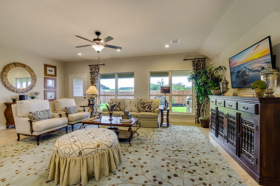 Family Room  - The Windom (2394 Plan)