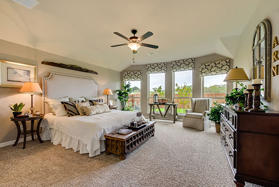 Master Bedroom - The Windom (2394 Plan)