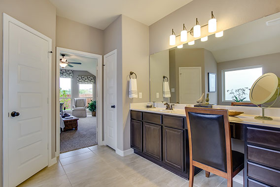 Master Bathroom - The Windom (2394 Plan)