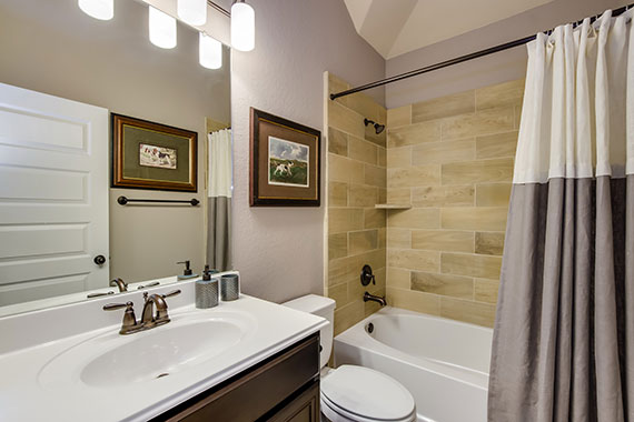 Secondary Bathroom - The Windom (2394 Plan)