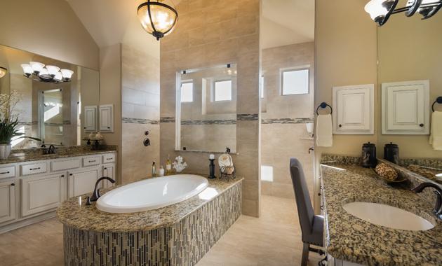 Master Bathroom - Design 3256