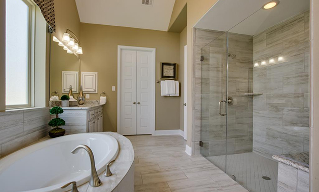 Master Bathroom - Design 3513