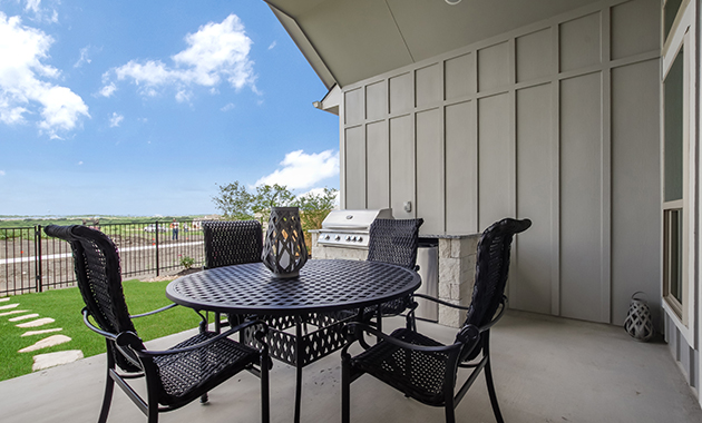 Covered Patio - Design 2539