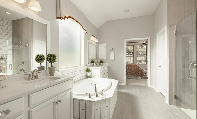 Master Bathroom - Design 2430