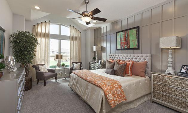 Master Bedroom - The St. Charles (Design 4095)