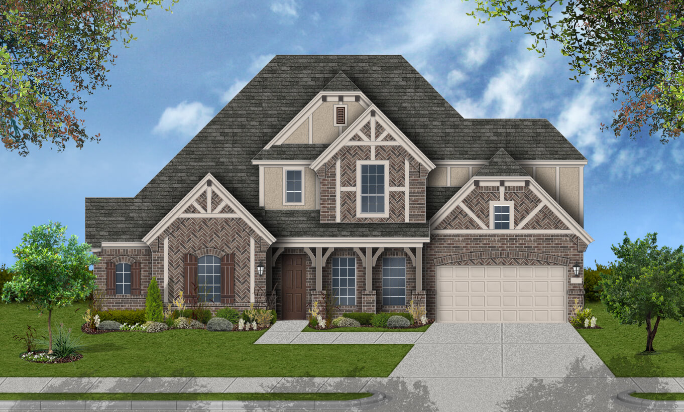 Dfw home builders ranking taraba home review for Build on your lot houston floor plans