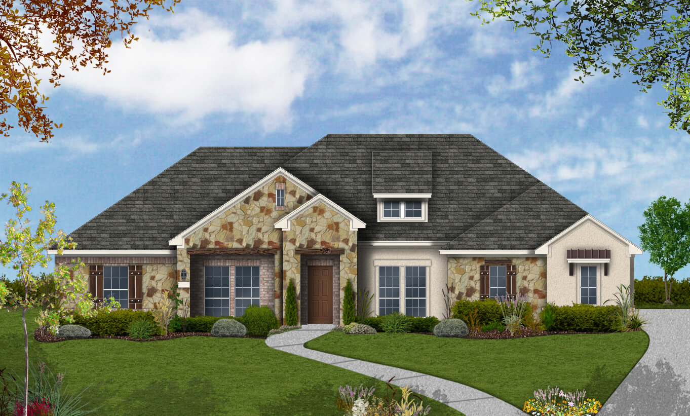Floor Plan Design 2652 Build On Your Lot Austin