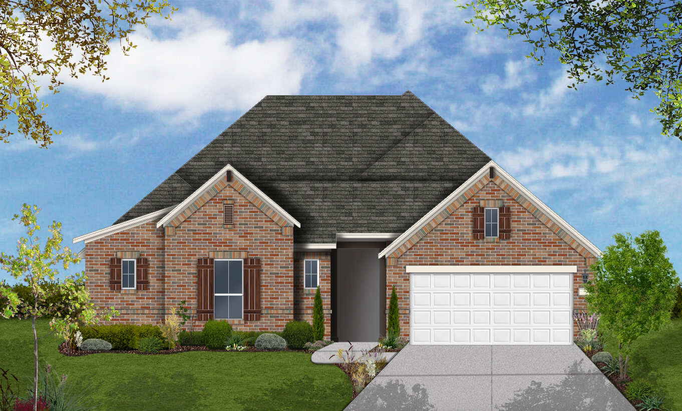 Floor Plan Design 2583 Build On Your Lot San Antonio