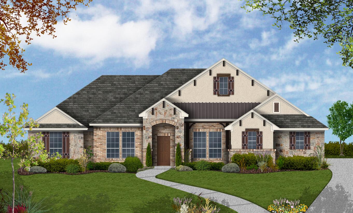 Floor Plan Design 2652 Build On Your Lot San Antonio