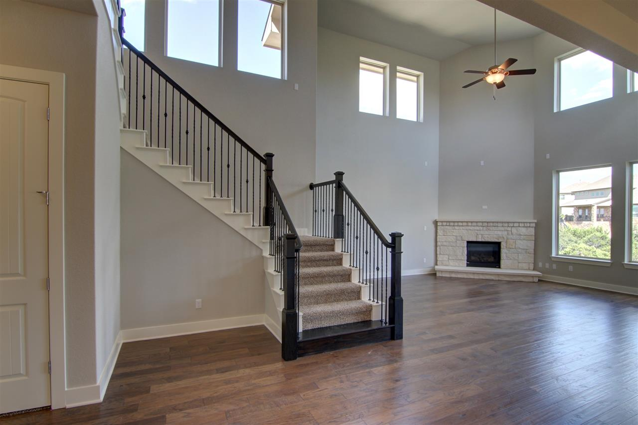 Family Room / Staircase