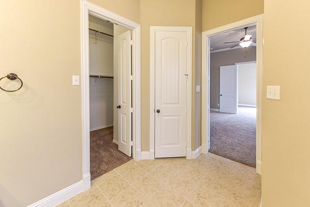 Master Bathroom with Closet