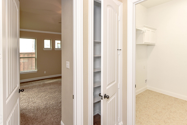 Utility Room and Storage Closet