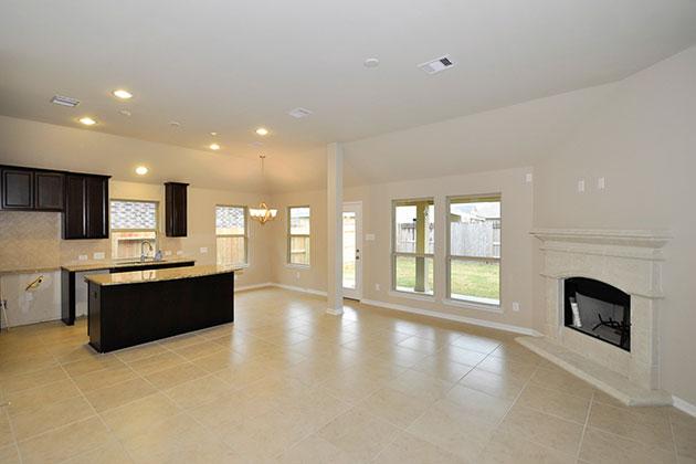 Family Room / Kitchen Area