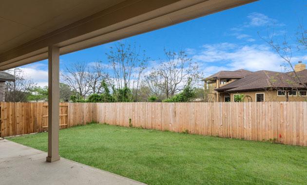 Backyard View 2