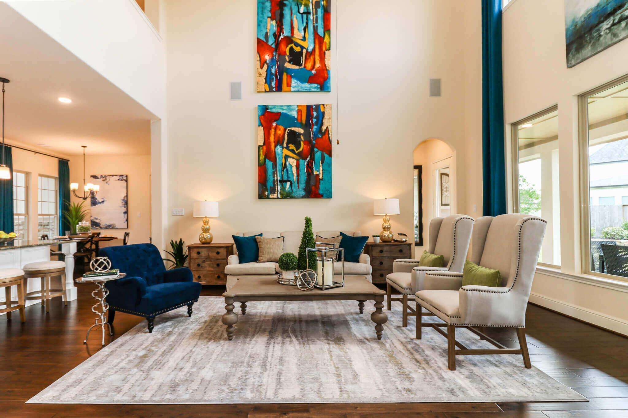 Family Room - Design 7304