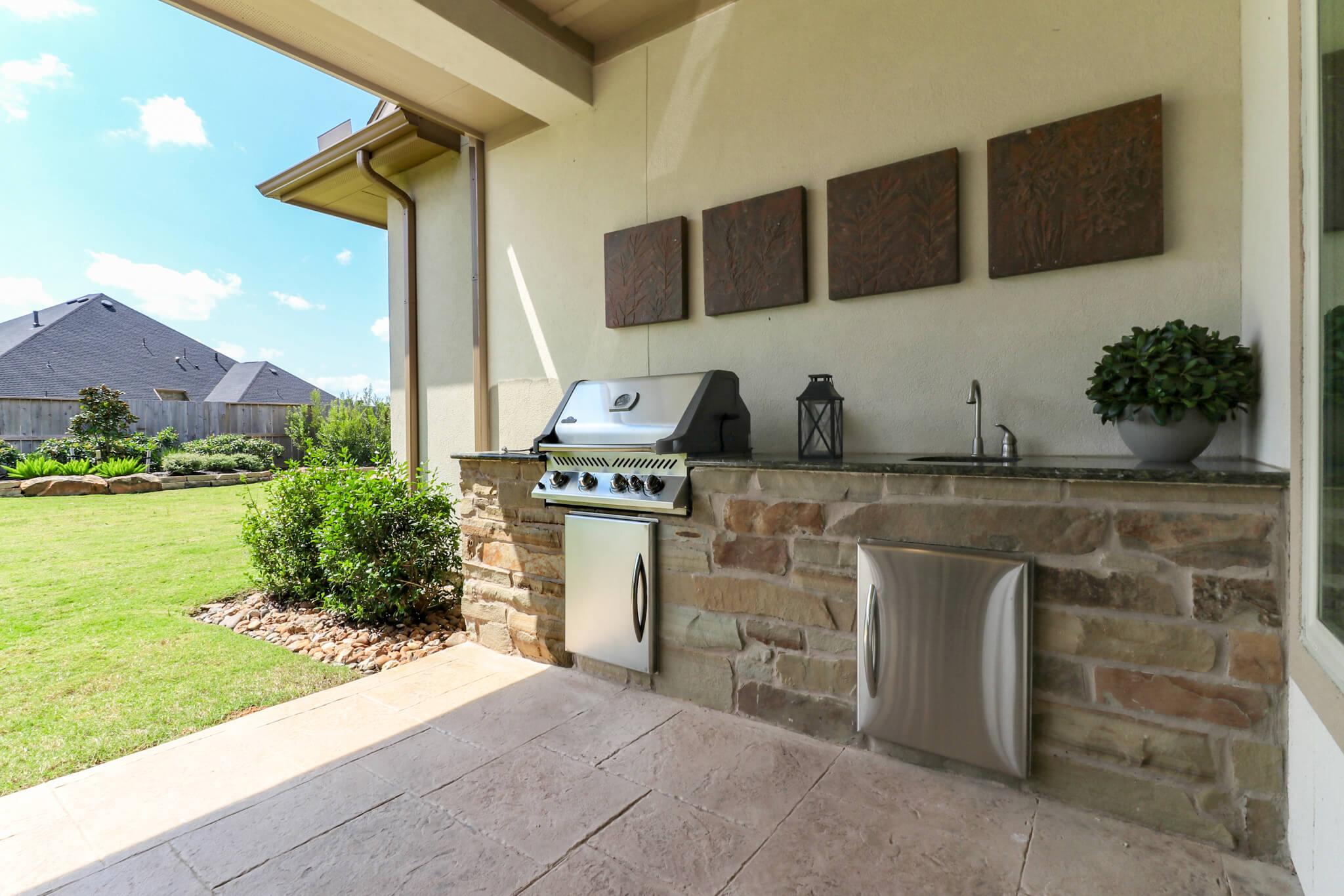 Outdoor Kitchen - Design 7304