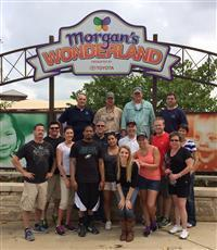 MCGUYER HOMEBUILDERS ADOPTS MORGAN'S WONDERLAND Employees Plan Busy Volunteer Season