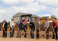 Wilshire Homes Breaks Ground on Mortgage-Free Home for Married Army Vets