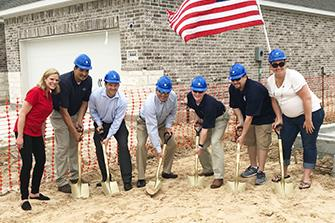 MHI Breaks Ground on Homes for Heroes Project