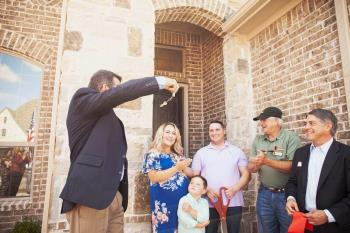 Army Veteran Receives Keys to Mortgage-Free Home