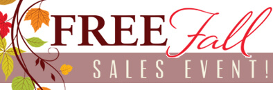 Free Fall Sales Event