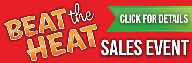 Beat the Heat Sales Event